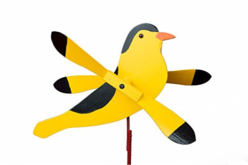 WhirligigWhirly-Bird-Garden-Spinner-Lawn-Decoration-Amish-Made-0