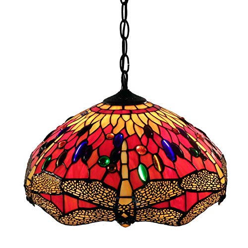 Whse-of-Tiffany-P161467A-Tiffany-Style-Dragonfly-Hanging-Lamp-Red-0