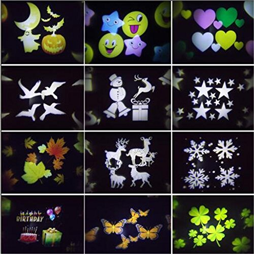 Wilsea-Projector-Lights-12-Pattern-Gobos-Garden-Lamp-Lighting-Waterproof-Sparkling-Landscape-Projection-Light-for-Decoration-Lighting-on-Christmas-Halloween-Holiday-Party-0-2