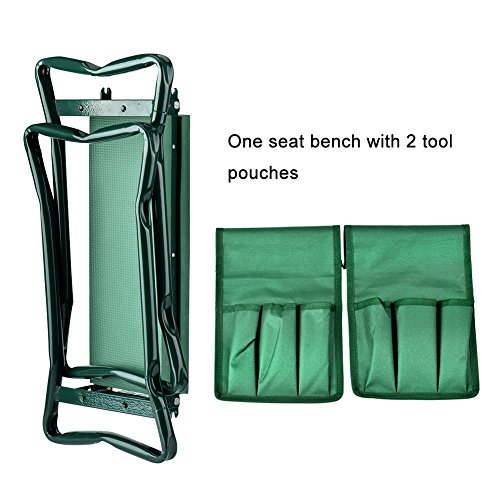 Wuudi-Folding-Garden-Kneeler-Seat-Bench-with-Two-Tool-Pouches-and-Kneeling-Pads-Used-in-Gardening-Work-0-1