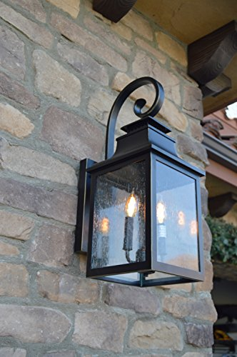 Y-Decor-EL2283IB-Morgan-2-Exterior-Lighting-Imperial-Black-0-2