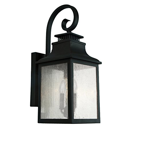Y-Decor-EL2283IB-Morgan-2-Exterior-Lighting-Imperial-Black-0