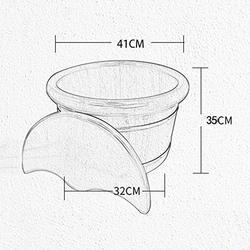 YIHANGG-Wooden-Foot-Tub-Home-Oak-Barrel-Corrosion-resistant-Smooth-And-Delicate-Foot-Barrel-0-0