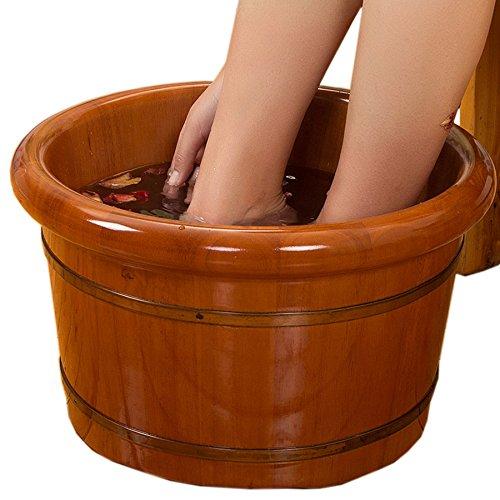 YIHANGG-Wooden-Foot-Tub-Home-Oak-Barrel-Corrosion-resistant-Smooth-And-Delicate-Foot-Barrel-0-2