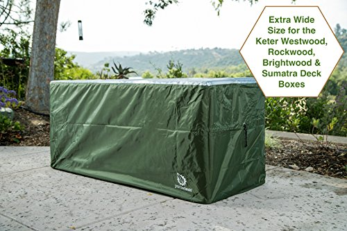 YardStash-Deck-Box-Cover-XXL-to-Protect-Extra-Wide-Deck-Boxes-Keter-Westwood-Deck-Box-Cover-Keter-Rockwood-Deck-Box-Cover-Keter-Brightwood-Deck-Box-Cover-Keter-Sumatra-Deck-Box-Cover-More-0-0