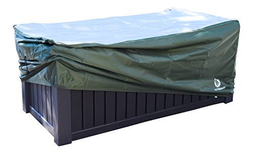 YardStash-Deck-Box-Cover-XXL-to-Protect-Extra-Wide-Deck-Boxes-Keter-Westwood-Deck-Box-Cover-Keter-Rockwood-Deck-Box-Cover-Keter-Brightwood-Deck-Box-Cover-Keter-Sumatra-Deck-Box-Cover-More-0