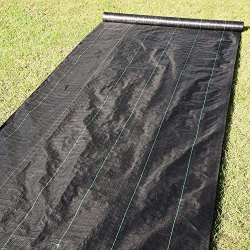 Yescom-Landscape-Fabric-41oz-Weed-Barrier-Woven-PP-with-UV-Treated-Block-Mat-Ground-Cover-Outdoor-Garden-0-1