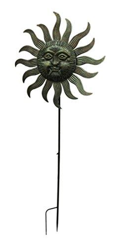 Zeckos-77X27-Metal-Sun-Face-Spinner-0