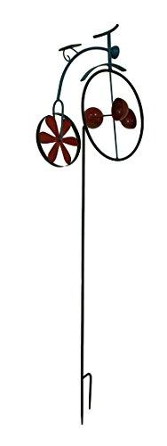 Zeckos-Penny-Farthing-Vintage-Bicycle-Wind-Cup-Pinwheel-Garden-Stake-0-0