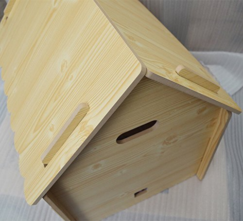 ZeeMoe-Brown-Large-Easy-Assembly-IndoorOutdoor-Wooden-Dog-House-Dog-House-0-1