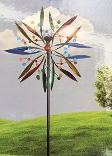 msimports-7-Kinetic-Windmill-Garden-Art-Spinner-Solar-Spectrum-0