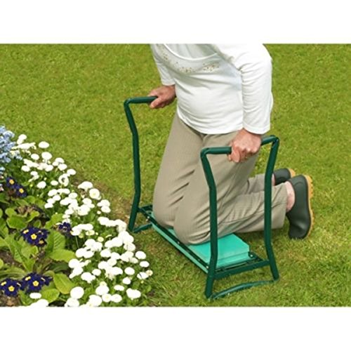napa-smile-Folding-Kneeling-Pad-Soft-Garden-Cushion-Kneeler-Gardener-Bench-Seat-Stool-Pouch-0-2